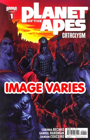 DO NOT USE Planet Of The Apes Cataclysm #1 1st Ptg Regular Cover (Filled Randomly With 1 Of 4 Covers)