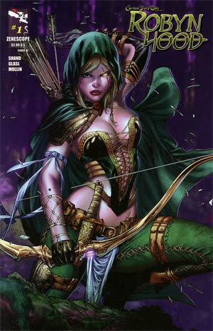 Grimm Fairy Tales Presents Robyn Hood #1 Cover A E-Bas