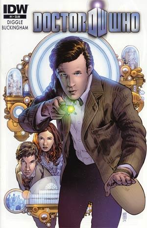 Doctor Who Vol 5 #1 Cover A 1st Ptg Regular Mark Buckingham Cover