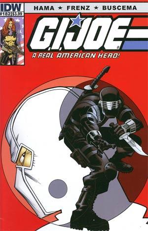 GI Joe A Real American Hero #182 Regular Ron Frenz & Sal Buscema Cover