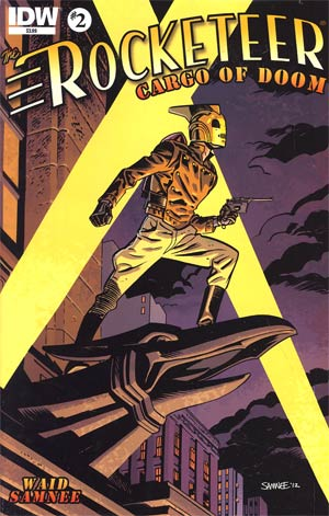 Rocketeer Cargo Of Doom #2 Regular Chris Samnee Cover