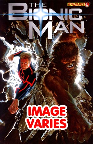 Bionic Man #14 Regular Cover (Filled Randomly With 1 Of 2 Covers)