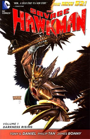 Savage Hawkman (New 52) Vol 1 Darkness Rising TP