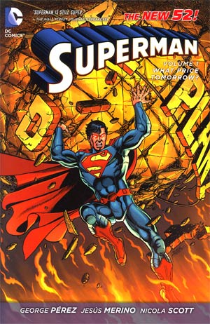 Superman (New 52) Vol 1 What Price Tomorrow HC