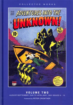ACG Collected Works Adventures Into The Unknown Vol 2 HC