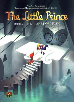 Little Prince Vol 3 Planet Of Music GN