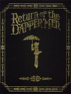 Return Of The Dapper Men HC Leather Bound Edition