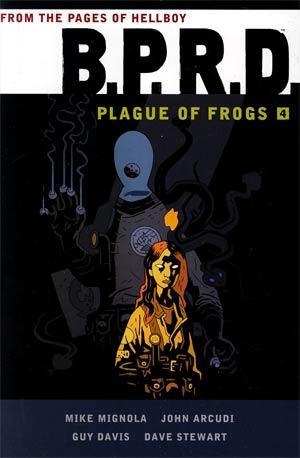 BPRD Plague Of Frogs Vol 4 HC