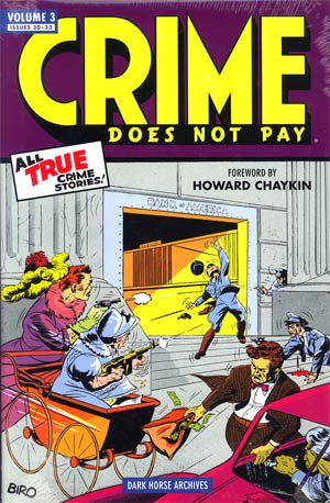Crime Does Not Pay Archives Vol 3 HC