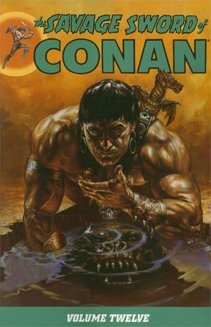 Savage Sword Of Conan Vol 12 TP