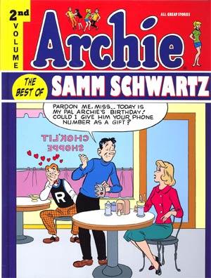 Archie Best Of Samm Schwartz Vol 2 HC
