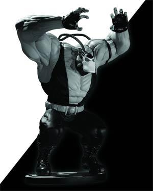 Batman Black & White Series Bane Mini Statue By Kelley Jones