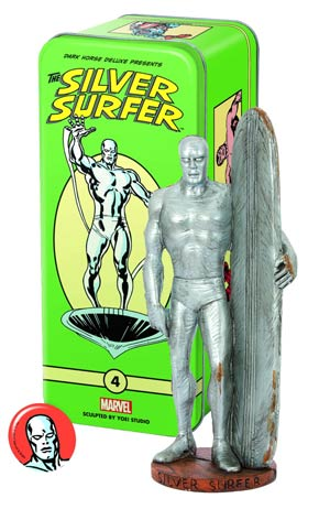Classic Marvel Characters Series 2 #4 Silver Surfer Mini Statue