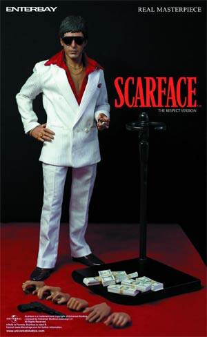 Scarface The Respect Edition Real Masterpiece Action Figure