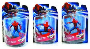 Amazing Spider-Man Movie 4-Inch PVC Figurine Assortment Case