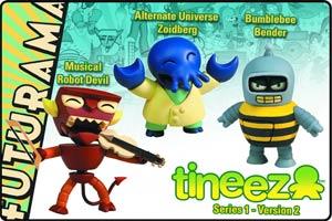 Futurama Tineez Version 1.2 3-Piece Set