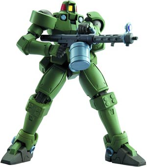 Robot Spirits #122 (Side MS) 0Z-06MS Leo (Moss Green) Action Figure