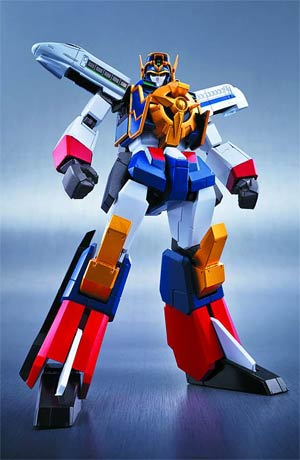 Super Robot Chogokin - Might Gaine Die-Cast Action Figure