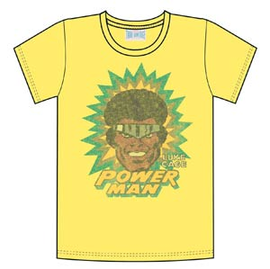 Luke Cage Power Man Previews Exclusive Yellow T-Shirt Large