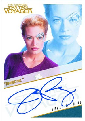 Quotable Star Trek Voyager Trading Cards Box
