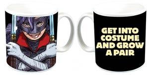 Kick-Ass Get Into Costume And Grow A Pair Mug