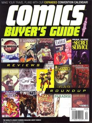 Comics Buyers Guide #1696 Dec 2012
