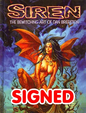 Siren Bewitching Art Of Dan Brereton HC Signed & Numbered Edition