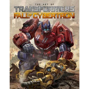 Art Of Transformers Fall Of Cybertron HC