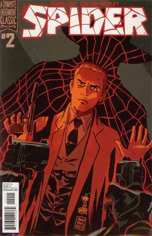 Spider #2 Regular Francesco Francavilla Cover