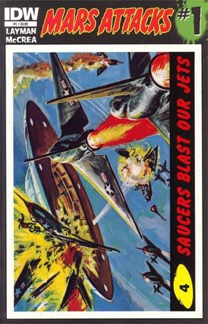 Mars Attacks Vol 3 #1 Cover D 1st Ptg Regular Card 04 Cover