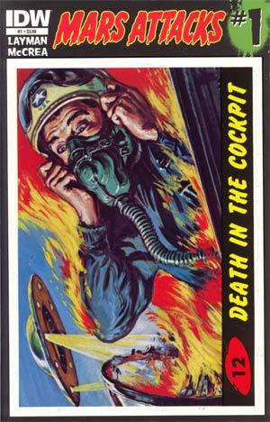 Mars Attacks Vol 3 #1 Cover L 1st Ptg Regular Card 12 Cover