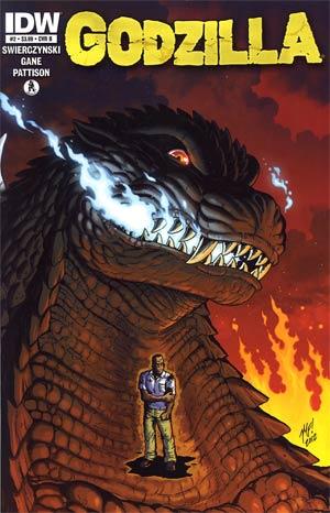 Godzilla Vol 2 #2 Cover B Regular Matt Frank Cover