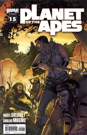 Planet Of The Apes Vol 3 #15 Regular Cover A