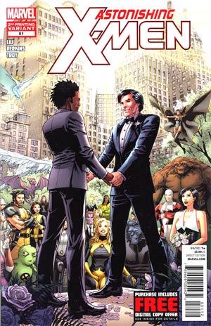 Astonishing X-Men Vol 3 #51 2nd Ptg Dustin Weaver Variant Cover