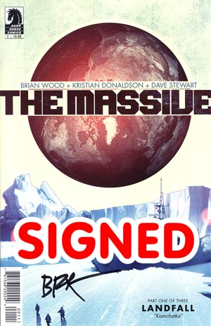 Massive #1 Regular Brian Wood Cover Signed By Brian Wood