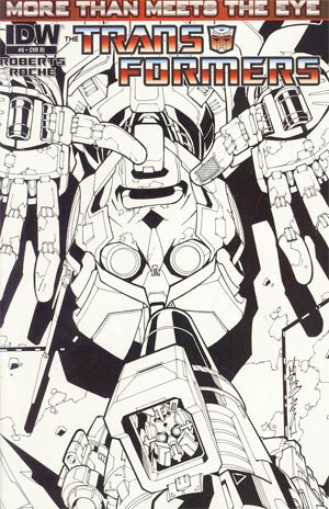 Transformers More Than Meets The Eye #6 Cover C Incentive Alex Milne Sketch Cover