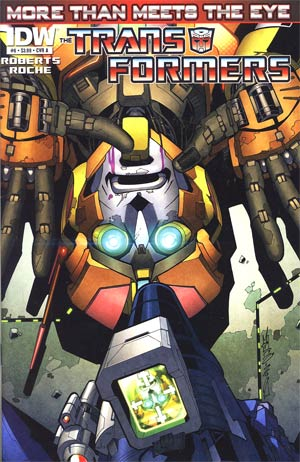 Transformers More Than Meets The Eye #6 Regular Cover A
