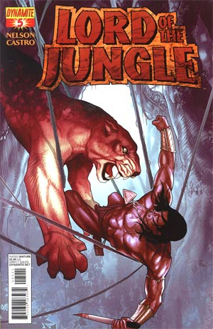 Lord Of The Jungle #5 Regular Paul Renaud Cover