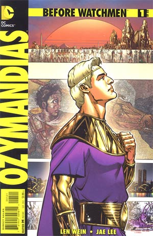 Before Watchmen Ozymandias #1 Cover B Incentive Phil Jimenez Variant Cover