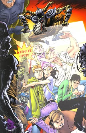Fanboys vs Zombies #4 Incentive Khary Randolph Virgin Variant Cover