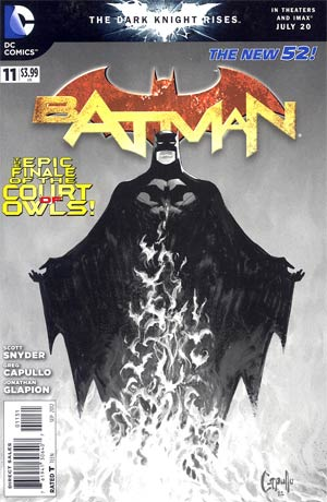 Batman Vol 2 #11 Cover E Incentive Greg Capullo Sketch Cover