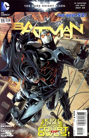 Batman Vol 2 #11 Cover B Variant Andy Clarke Cover