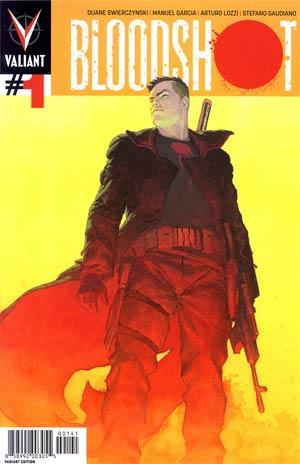 Bloodshot Vol 3 #1 Incentive Esad Ribic Variant Cover