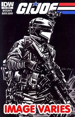 GI Joe Vol 5 #15 Incentive Tommy Lee Edwards Sketch Cover
