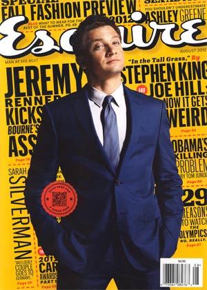 Esquire Vol 158 #1 Aug 2012