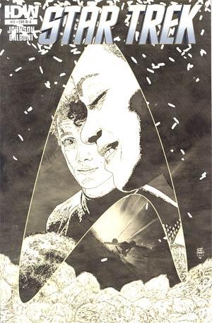 Star Trek (IDW) #11 Incentive Tim Bradstreet Sketch Cover