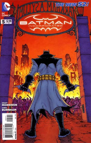 Batman Incorporated Vol 2  #5 Cover A Regular Chris Burnham Cover