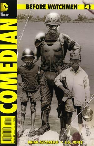 Before Watchmen Comedian #4 Regular JG Jones Cover
