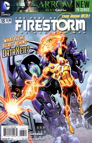 Fury Of Firestorm The Nuclear Men #13