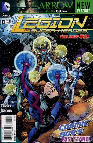 Legion Of Super-Heroes Vol 7 #13